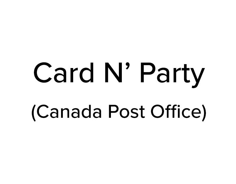 Card N' Party (Canada Post Office)